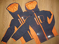 Шикарная термо-куртка 3 в 1. Бренд Glo-Story. р.134,140,146