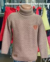 Кофта свитер с воротником на мальчика Турция, качество
