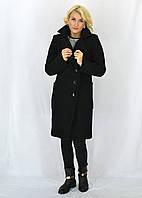 Черное классическое пальто