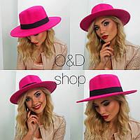 Женская модная фетровая шляпа (5 цветов)