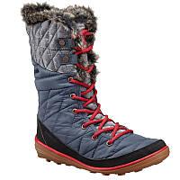 Женские зимние сапожки Columbia HEAVENLY™ OMNI-HEAT™ ORGANZA серо-синие BL1664 435