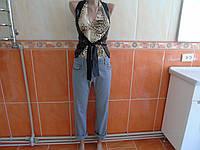 Женские штаны джинсы (12р-талия 84см)ДЕШЕВО!