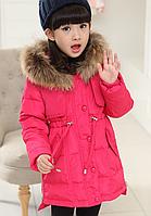 """Детская зимняя куртка пуховик на девочку """"Парка"""""""