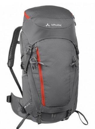 Вместительный туристический рюкзак 42 л. Vaude  Asymmetric 4052285204495 Серый