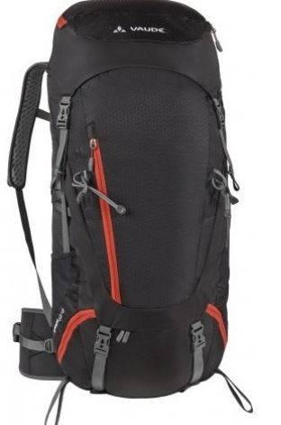 Туристический рюкзак 52+8 л. Vaude  Asymmetric 4021574286948 Черный