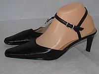 CROSS _стильные туфли на каблуку _ 25-25.5см