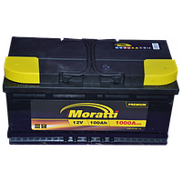 Аккумулятор Moratti 100A/h 1000А R+, (EU)