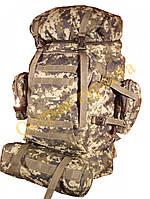 Рюкзак туристический Panyanzhe26 70л камуфляжный-пиксель