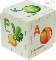 Кубик-развивайка. Алфавит (блистер)