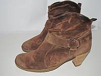 PAUL GREEN _Австрия _Замша 6р 26 см наряд.ботинки