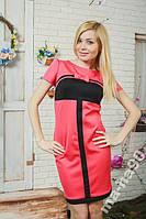 Трикотажное женское платье. Размеры  42__50