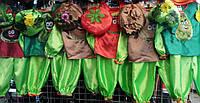 Детские костюмы Овощей к Празднику Осени опт и розница S776
