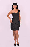 Платье женское вечернее черное