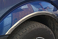Накладки на арки (4 шт, нерж) - Volkswagen Crafter (2006+/2011+)