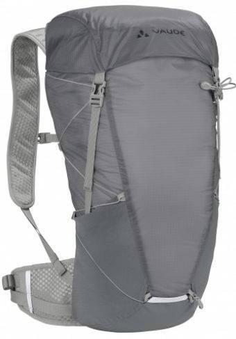 Легкий рюкзак с сетчатой спинкой 24 л. Vaude Citus  4052285213725 Серый