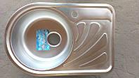 Мойка кухонная Germece 6644_0,8 mm (микродекор)