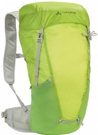 Легкий рюкзак с сетчатой спинкой 24 л. Vaude Citus 4052285213749 Салатовый