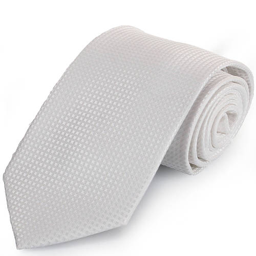 Шикарный мужской широкий галстук SCHONAU & HOUCKEN (ШЕНАУ & ХОЙКЕН) FAREPS-14 белый