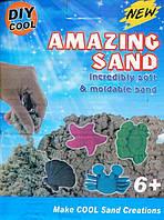 Кинетический песок для моделирования 14-1000 (1000 гр в коробке + 6 формочек/микс 4 цвета)
