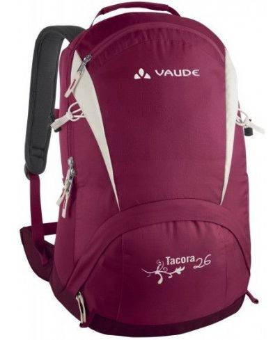Женский маленький городской рюкзак 26 л. Vaude Tacora 4021573974624 Розовый