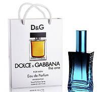 Мини парфюм Dolce & Gabbana The One for Men в подарочной упаковке 50 ml