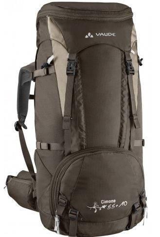 Туристический рюкзак для женщин 45 л. Vaude Cimone 4021574093973 Коричневый
