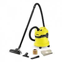 Karcher WD 2 HOME Пылесос сухой и влажной уборки