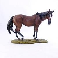 Статуэтка Лошадь в коричневых тонах