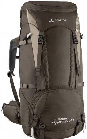 Туристический рюкзак для женщин 55 л. Vaude Cimone 4021574093713 Коричневый