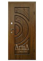 Входные двери 319 с патиной Улица тм Арма