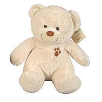"""Мягкая игрушка «Nicotoy» (5816065) плюшевый """"Медвежонок с вышивкой"""", 24 см (белый)"""