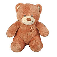 """Мягкая игрушка «Nicotoy» (5816065) плюшевый """"Медвежонок с вышивкой"""", 24 см (светло-коричневый)"""