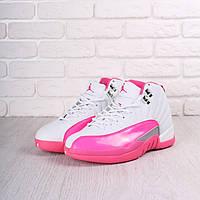 Кроссовки Nike Air Jordan White/Rose - 1390