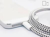 Кабель синхронизации зарядки iPhone iPad iPod 1 м. Lightning в обмотке