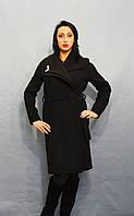 Черное женское пальто Sassofono 518301