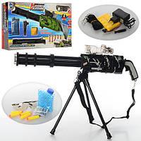 Игрушечное оружие с пульками 665-1-2: водяные пули, 5 пуль с присосками, коробка 66х31,5х11 см