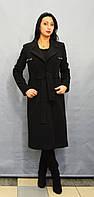 Пальто черное Sassofono 513301