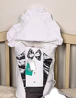 Летние конверты для новорожденных(серебро)