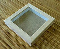 Рамка для 3D 10х10 см (липа глубокий 24 мм)