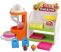 Игровой набор Шопкинс Овощная лавка  2 шопкинса 2 сумочки Shopkins Fruit & Vegetable Playset