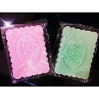 Влажная салфетка, спонж, для удаления макияжа Lily  ( 2 салфетки в наборе)
