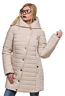 Стеганная зимняя куртка Зара жемчуг 44-52 размеры