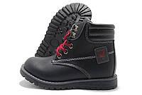 Ботинки детские Kimbo-O 1512-В черные 27-30р.