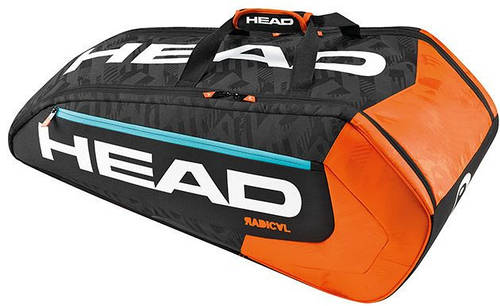 Теннисная сумка-чехол  на 9 ракеток 283196 Radical 9R Supercombi BKOR HEAD