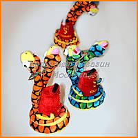 Мягкая игрушка-копилка Змея 25см №1253-62