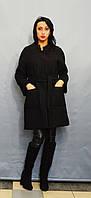 Пальто черный букле ICON 8543