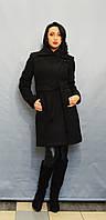 Пальто черный букле ICON 8579