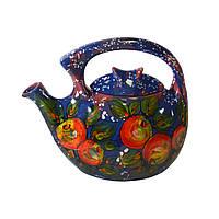 Семейный чайник-заварник Райское яблоко ( ручная работа )