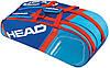 Сине-голубая сумка-чехол для большого тенниса на 6 ракеток  283345 Core 6R Combi BLFL HEAD