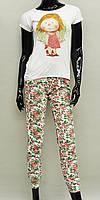 Подрастковая пижама для девочки (футболка и брюки) Anabel Arto